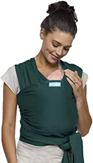 Moby Classic Baby Wrap (Pacific) - Baby Wearing Wrap For Parents On The Go - Baby Wrap Carrier For Newborns, Infants, and ...