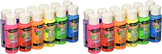 DecoArt Acrylic 2 oz 12 Count Brights Craft Paint Value Pack (?undl? ?f ?w?)