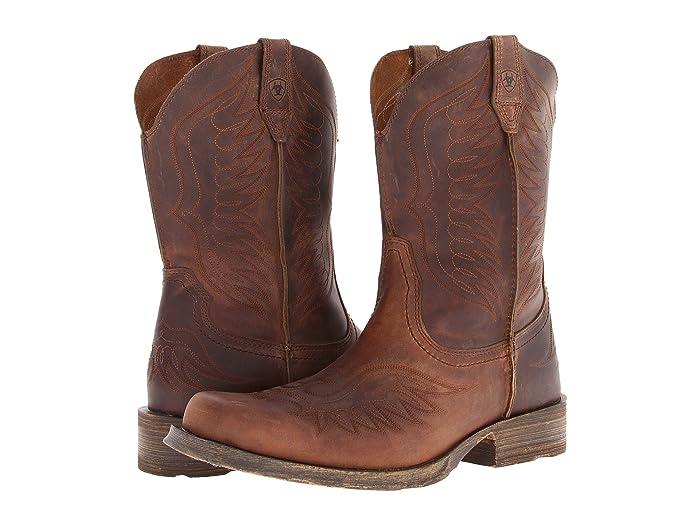 Ariat Rambler Phoenix (Distressed Brown) Cowboy Boots