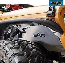EAG JL Front Inner Fender Kit Fit for 18-19 Jeep Wrangler JL - Silver Aluminum