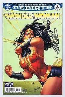 Wonder Woman #3 Variant NM 1st Print Signed w/COA Frank Cho 2016 DC Comics
