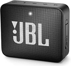 JBL GO2 Waterproof Ultra Portable Bluetooth Speaker - Black