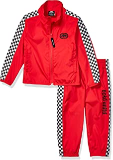 Boys' Checker Track Suit Set