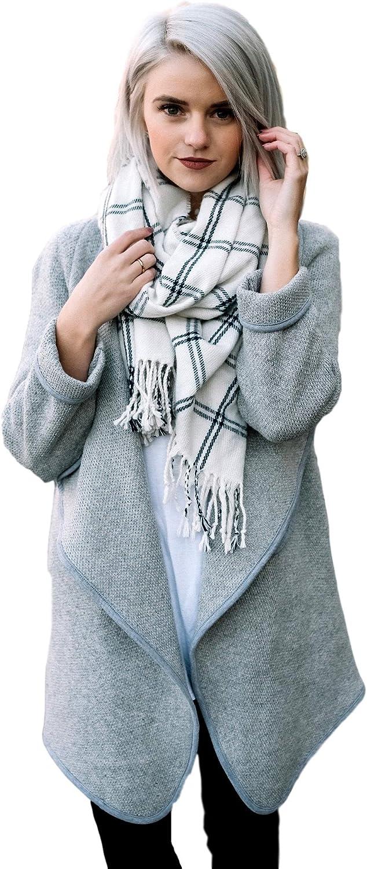 JaceyLane Everyday Wool Sweater Jacket