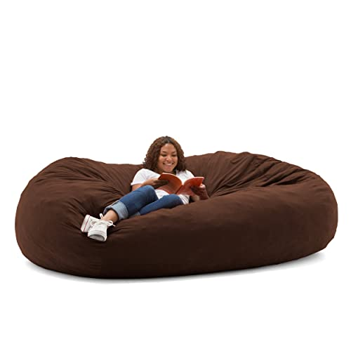 fe0949f3eac8 Big Joe Fuf Foam Filled Bean Bag Chair