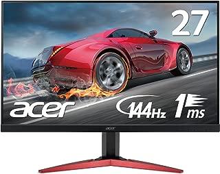 Acer ゲーミングモニターディスプレイ KG271Cbmidpx  27インチ 144Hz/応答速度1ms/TN/非光沢/Free Sync/フレームレス/スピーカー内蔵