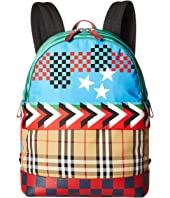 Burberry Kids - Nico Geometric Backpack