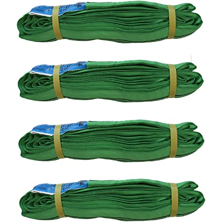 1 St/ück 4 m Rundschlinge 2000 kg Hebeschlinge Hebeband Hebegurt Hebeb/änder 2 T