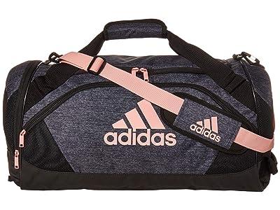 adidas Team Issue II Medium Duffel (Jersey Black/Glory Pink) Duffel Bags