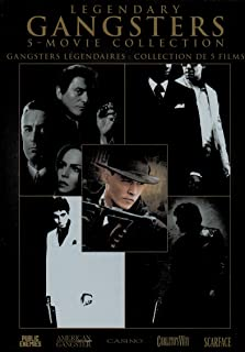Legendary Gangsters 5-Movie Collection: Public Enemies / American Gangster / Casino / Carlito`s Way / Scarface