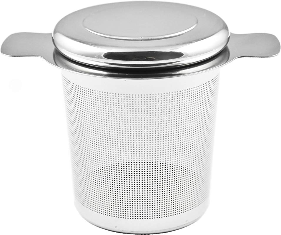 Zoie Chloe Extra Fine Stainless Steel Tea Infuser Brew In Mug Loose Leaf Mesh Strainer Filter