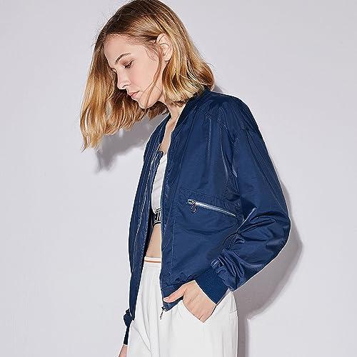 ZHUDJ Sportswear, Manteau Court, Court De Branches Et Zipper veste