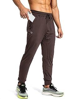 Men's Sweatpants with Zipper Pockets Athletic Pants...