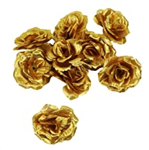 Best fake flowers gold Reviews