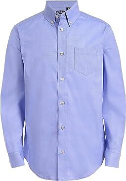 Long Sleeve Oxford Button-down Dress Shirt