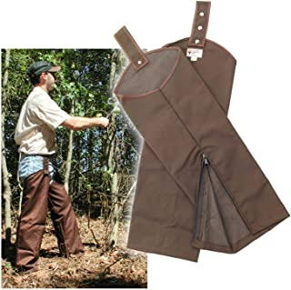 leather hunting chaps