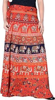 Sttoffa 36 Inch Length Wrap Around Rajasthani Skirt D1