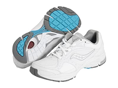 Saucony ProGridtm Integrity ST 2 (White/Silver) Women
