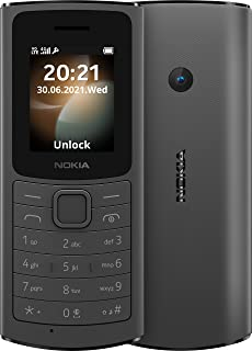 Nokia 110 4G LTE Volte Unlocked Single GSM 4G Worldwide FM Mp3 Player (AT&T/T-Mobile/Tracfone/Simple Mobile) (NOT Verizon ...