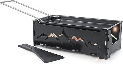 عربة السباق إنارة الشموع القابلة للطي، باللون الأسود من سويسمار