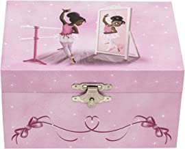 Nia Ballerina Musical Jewelry Box - Reflection