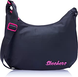 Skechers S554 Getty Crossover Sling Bag, Black, 30 Centimeters