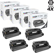 LD Remanufactured Toner Cartridge Replacement for Samsung ML-7300DA (Black, 4-Pack)