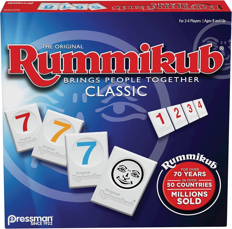 Rummikub by Pressman - Classic The Tile Edition Max 76% OFF Rummy Original Selling