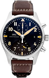 Best iwc automatic black dial pilot chronograph Reviews