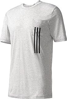 adidas Men's Athletics Sport Id 3 Stripe Pocket Tee