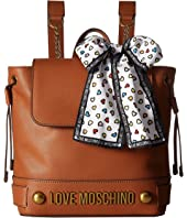LOVE Moschino - Backpack w/ Love Moschino Scarf