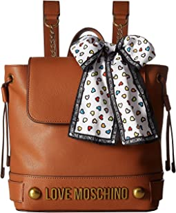 LOVE Moschino Backpack w/ Love Moschino Scarf
