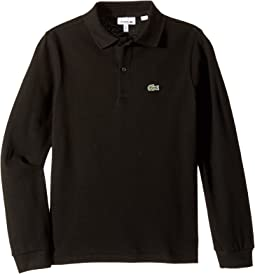 Long Sleeve Classic Pique Polo (Infant/Toddler/Little Kids/Big Kids)