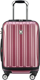 """DELSEY Paris Helium Aero International Carry on Expandable Spinner Trolley - 19"""", Peony Pink (Pink) - 400764009"""