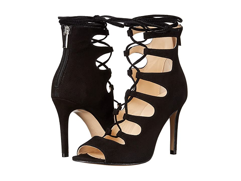 Summit by White Mountain Maeve (Black Suede) High Heels