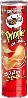 Pringles Potato Crisps Super Stack, Original, 6.41-Ounce Tubes (Pack of 14)
