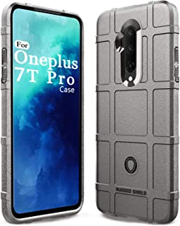 Sucnakp OnePlus 7T Pro Case Heavy Duty Shock Absorption Phone Cases Impact Resistant Protective Cover for Oneplus 7T Pro 5...