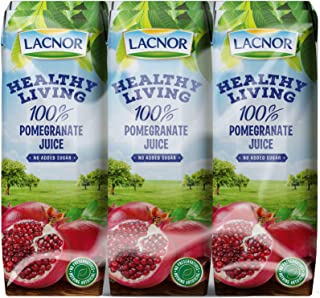 Lacnor Health Living Pomegranate Juice - 250 ml x 6
