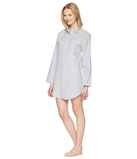 blanco a Night Armani Emporio Camisa Passion azul rayas Vestido 6fX6Zw