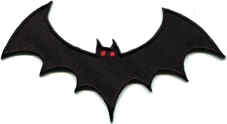 Vampire bat Horror Biker Tattoo A Wildlife Max 71% Manufacturer OFFicial shop OFF Halloween Embroidered