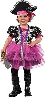 Rubie's Pirate Princess Child's Costume, Toddler