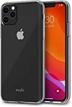 Moshi Vitros for iPhone 11 Pro Max Case 6.5-inch, Military Drop Protection, Flexible TPU, Clear Phone Cover for iPhone 11 Pro Max, Crystal Clear
