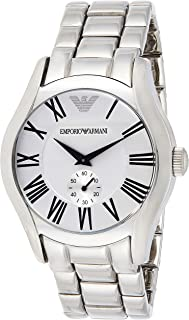 Emporio Armani Womens Quartz Watch, Chronograph Display and Stainless Steel Strap AR0648