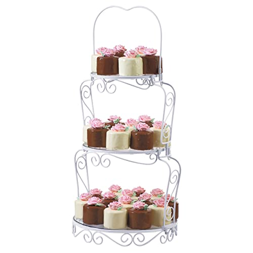 3 Tier Wedding Cake Stand Amazon Co Uk