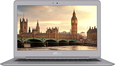 "Asus ZenBook 13 Ultra-Slim Laptop, 13.3"" Full HD, 8th Gen Intel i5-8250U Processor, 8GB RAM, 256GB M.2 SSD, Backlit Kbd, Fingerprint Reader, Windows 10, Grey, UX330UA-AH55"