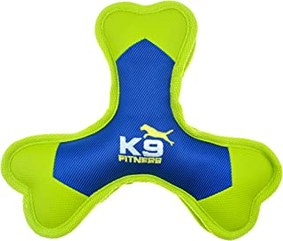 K9 Fitness Dog Toys by Zeus Tough Nylon Tri-Bone, Tough Nylon Construction Built for Chewers (Color May Vary)