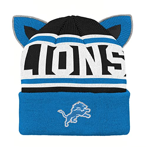 e17f4fc3687 Outerstuff NFL Unisex-Baby Team Ears Fleece Knit Hat