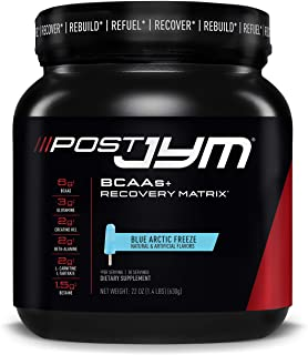 Post JYM Active Matrix, Post-Workout with BCAA's, Glutamine, Creatine HCL, Beta-Alanine and More, JYM Supplement Science, ...