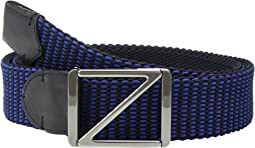 40mm Woven Leather Belt BTREY9