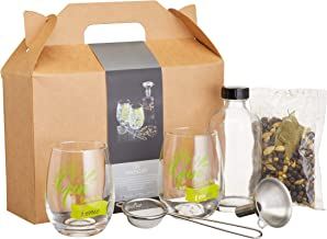 BarCraft Gin Making Kit in Gift Box, 6 Pieces